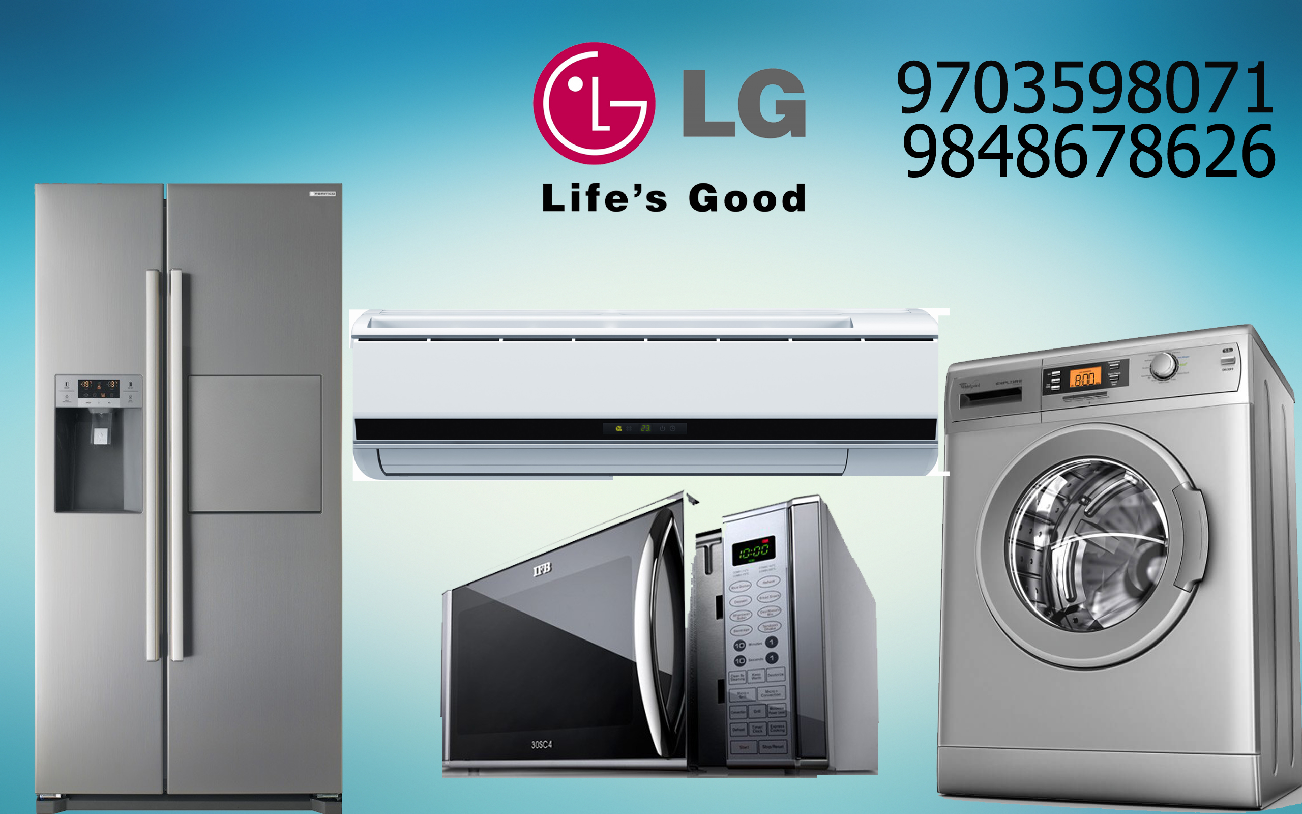 Lg Washing Machine Amp Microwave Oven Service Center Contact Us